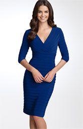 model jurk voor V-figuur