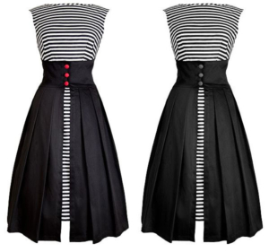 hoeveel contrast in kleding